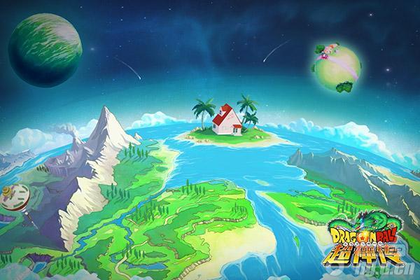 观览世界蓝色《龙珠超神传》名胜景点闲逛_龙命运漫画漫画图片