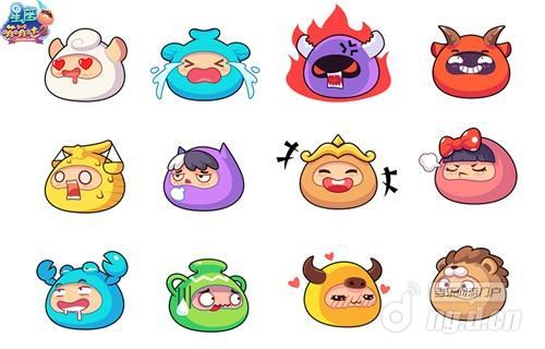 《星座萌萌哒2》可爱的12星座漫画形象