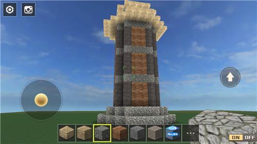 全民枪战-创造 中世纪塔楼建造教学