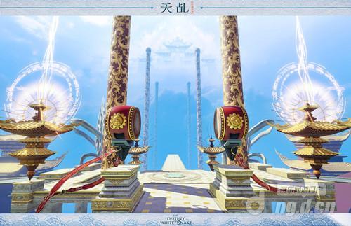 《天乩之白蛇传说手》手游场景首曝 绝美勾勒次世代奇山秀水  缥缈云